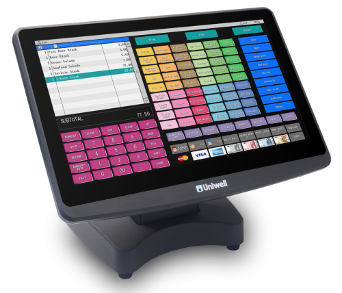 Uniwell HX-5500 - Uniquely Uniwell - hospitality POS for cafes restaurants bakeries bars bistros