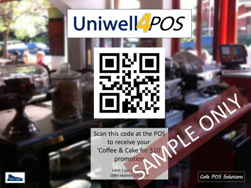 Uniwell POS terminals can help you with your cafe social media promotions