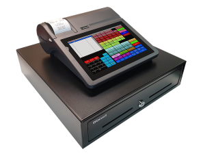 Uniwell's all-in-one cafe POS terminal - HX-2500PRD